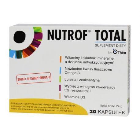 Nutrof Total z Witaminą D3 * 60 kapsułek
