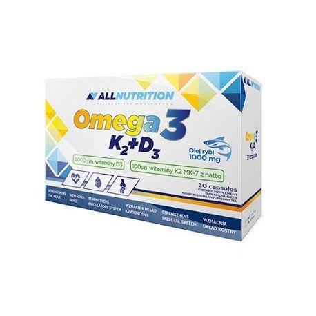 AllNutrition Omega3 + D3 + K2 * 30 tabl.