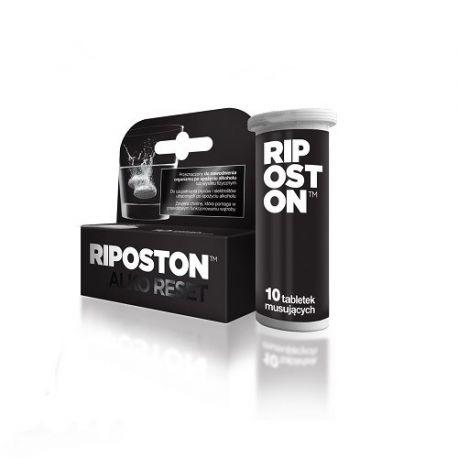 Riposton * tabletki musujące * 10 sztuk