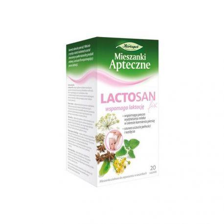 Lactosan - herbatka * 20 saszetek