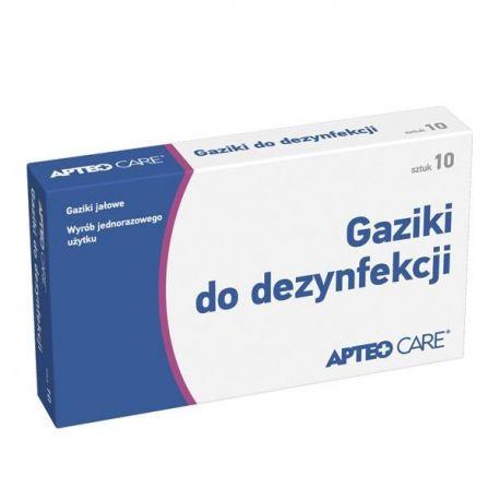 APTEO CARE * gaziki do dezynfekcji * 10 sztuk