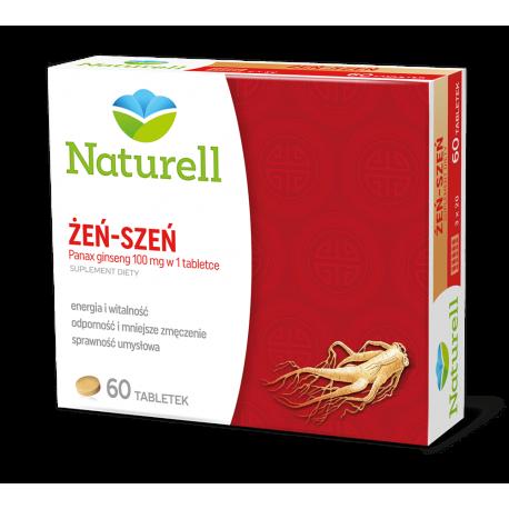 Naturell Żeńszeń * 100 mg * 60 tabletek