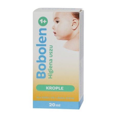 Bobolen Higiena Uszu * krople do uszu * 20 ml