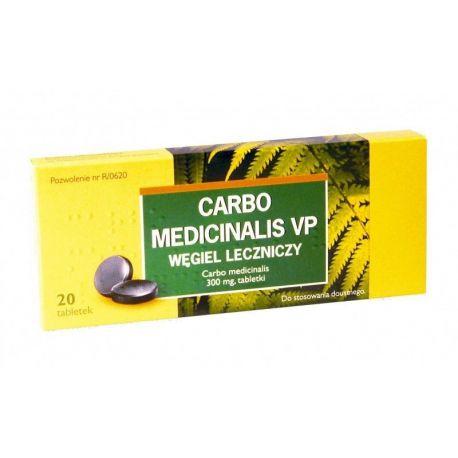 Carbo Medicinalis VP * 20 tabl