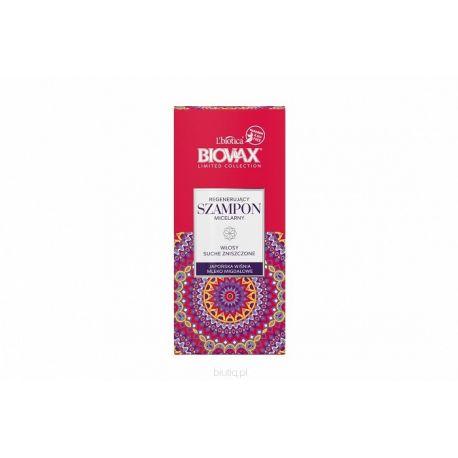 Biovax * regenerujący szampon micelarny do włosów suchych japońska wiśnia * 200ml