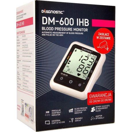 Diagnostic DM -600 IHB Ciśnieniomierz automatyczny naramienny * 1 sztuka