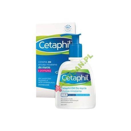 Cetaphil EM Do mycia * Emulsja micelarna * 236 ml * z pompką