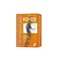 Menachinox K2+D3 2000 * 30 kaps.