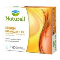 NATURELL Chrom Organiczny +B3 * 60 tabl.