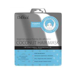 L'BIOTICA Maska do włosów wygładzająca * W formie czepka