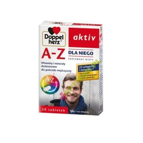 Doppelherz aktiv A-Z Dla Niego * 30 tabl.