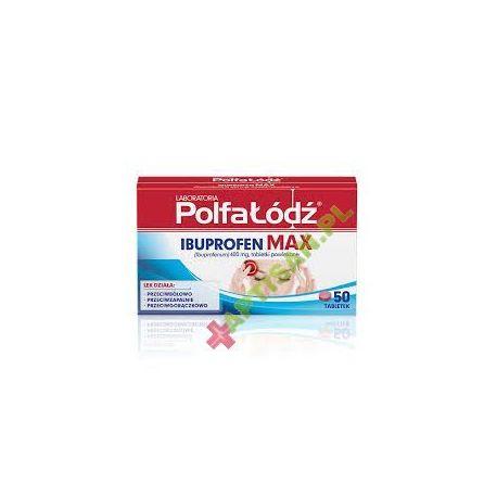 IBUPROFEN MAX * 50 tabletek