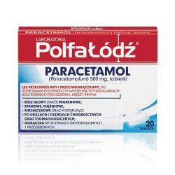 Paracetamol * 20 tabletek