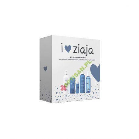 Ziaja Gdanskin-ZESTAW* serum, 50 ml + mgiełka zapachowa, 200 ml  + balsam, 300 ml+ mydło, 300 ml