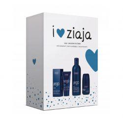 Ziaja Yego - ZESTAW * anty- perspirant , 60 ml + krem nawilżający , 50 ml + żel pod prysznic , 300 ml