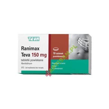 Ranimax teva 150 mg * 10 tabletek