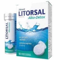 Zdrovit Litorsal Alko-Detox * 10 tabletek musujących