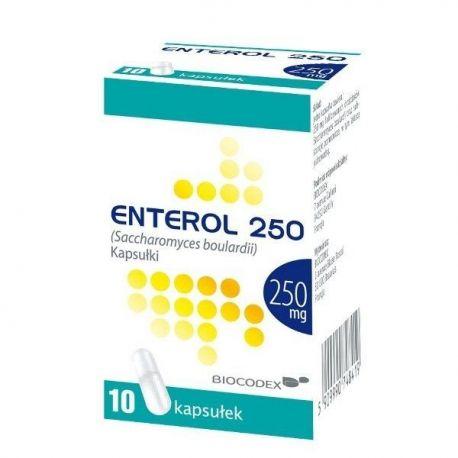 Enterol 250 * 10 kaps