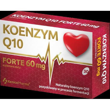 Koenzym Q10 Forte 60 mg kaps.miękkie 30kap