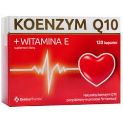 Koenzym Q10 + Witamina E * 120 kapsułek