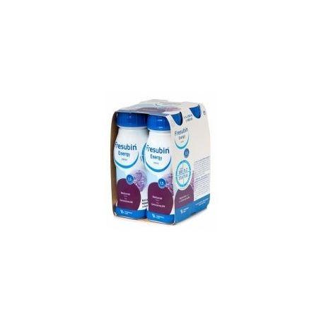 Fresubin Energy Drink * płyn o smaku truskawkowym * 4 sztuki po 200 ml
