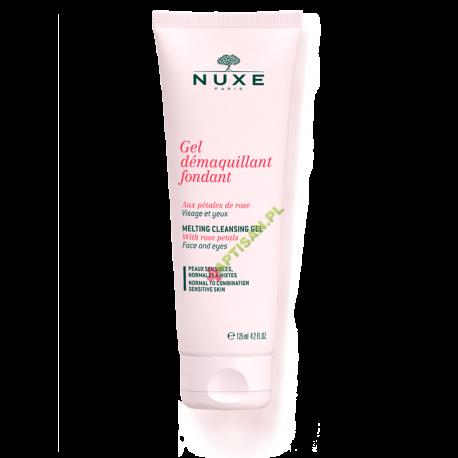 Nuxe Roses * Żel do demakijażu z płatkami róż * 125 ml