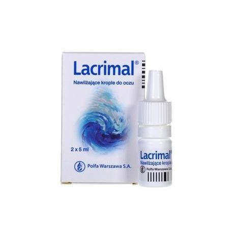 Lacrimal - krople nawilżające * 2 x 5 ml