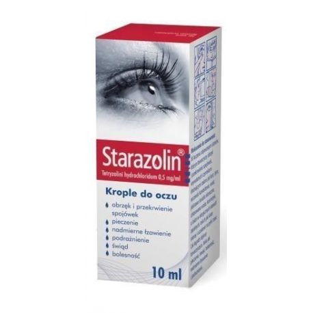 Starazolin krople 0,05 % * 2 x 5 ml