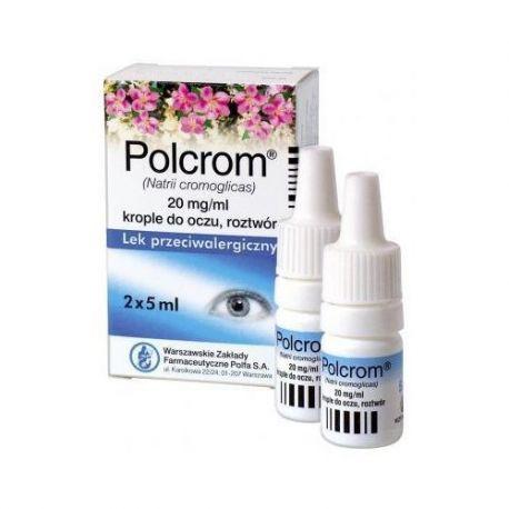 Polcrom krople 2 % * 2 X 5 ml