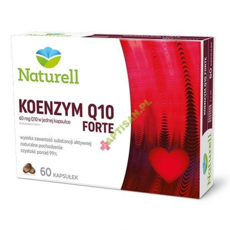 Naturell * Koenzym O10 Forte * 60 kapsułek