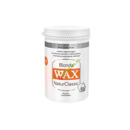 Wax Blonde * maska regenerująca do włosów jasnych * 480 ml