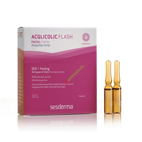 Sesderma EFEKT FLASH * Aclicolic 2ml * C-VIT 12% 2ml