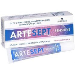 ARTESEPT Sensitive * opatrunek w żelu * 20ml