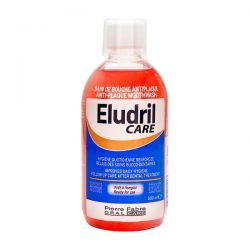 Eludril Care, Anti-Plaque, płyn do płukania jamy ustnej, 500 ml