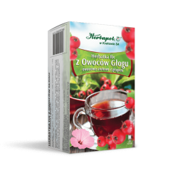 Hebapol * Herbatka fix - z owocem głogu * 20 saszetek