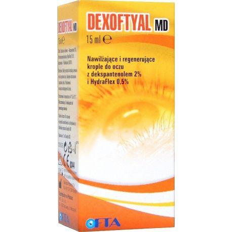 Dexoftyal MD - krople do oczu * 15 ml