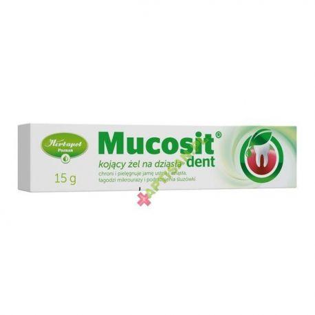 Mucosit Dent * żel kojący na dziąsła * 15g