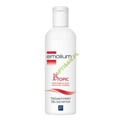 Emolium A- Topic * Trójaktywny żel do mycia * 200 ml
