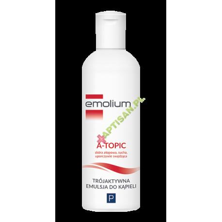 Emolium A-Topic * Trójaktywna Emulsja do kąpieli * 200 ml