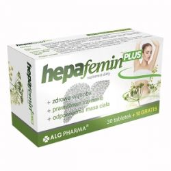 Hepafemin Plus * 40 tabletek
