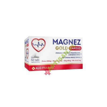 Magnez Gold Cardio * 50 tabletek