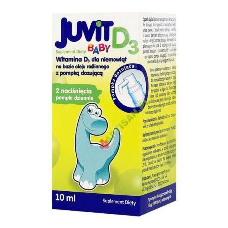 Juvit Baby D3 * krople * 10ml