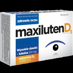 Maxiluten D3 tabletki * 30 tabl.