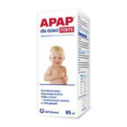 Apap Forte 40 mg / ml * zawiesina * 85 ml