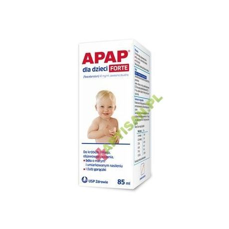 Apap Forte 40 mg / ml * zawiesina * 85 ml