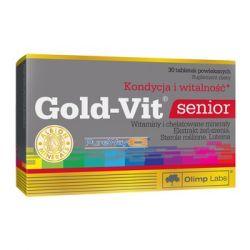 OLIMP * Gold-Vit senior * tabl.powl. * 30szt