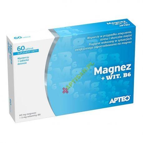 APTEO * Magnez + Witamina B6 * 60 tabl.