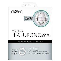 L Biotica * Maska Hialuronowa na tkaninie * 1 szt