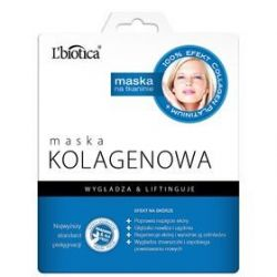 L Biotica * Maska kolagenowa na tkaninie * 1 szt