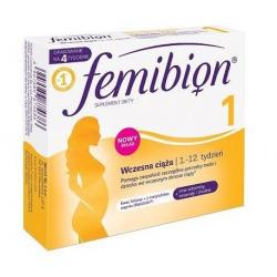 Femibion 1 Wczesna Ciąża* 28 tabletek